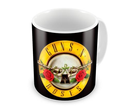 Caneca de Porcelana Rock Guns N Roses