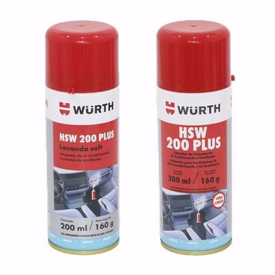 Higienizador Ar Condicionado Lavanda Soft Hsw 200 Plus Würth em Pedralva