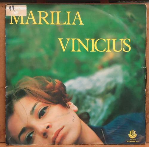 Lp (323) Marilia Vinicius Original