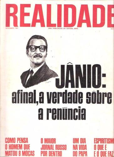 Realidade 20 - 1967 - Ed. Abril