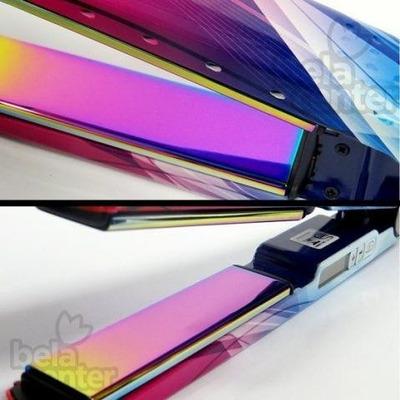 a0eadc0ee A Prancha Babyliss Pro Nano Titanium emite íons negativos na sua forma mais  benéfica para fechar as cutículas capilares na sua própria umidade natural,  ...