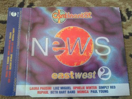Cd Single Laura Pausini Luis Miguel Remix Promo 1997 Naciona Original