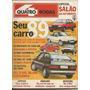Quatro Rodas 339 Modelos 1989 Gurgel Monza Xr3 Santana Gol