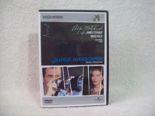 Dvd  Janela Indiscreta- De Alfred Hitchcock Original