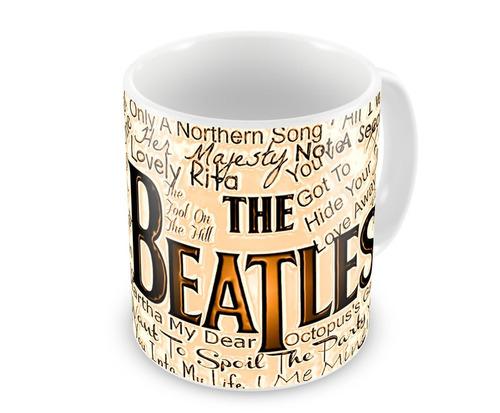 Caneca de Porcelana The Beatles