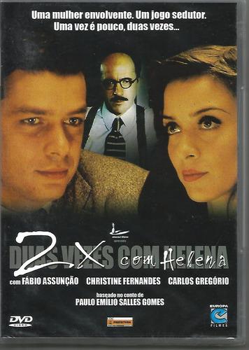 Dvd Duas Vezes Com Helena - Christine Fernandes - Lacrado Original