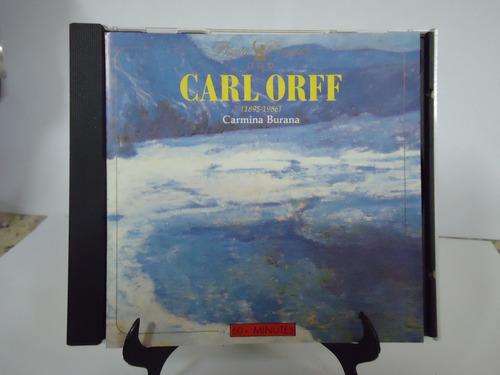 Cd Carmina Burana Carl Orff -  Original