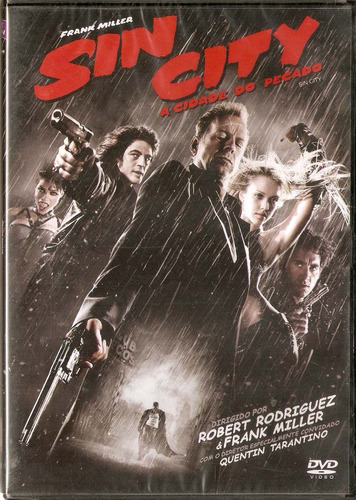 Dvd Sin City - A Cidade Do Pecado Frank Miller - Novo*** Original