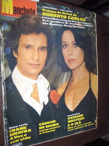 Miss Mundo 1979 Especial Roberto Carlos Cristiane Torloni Original