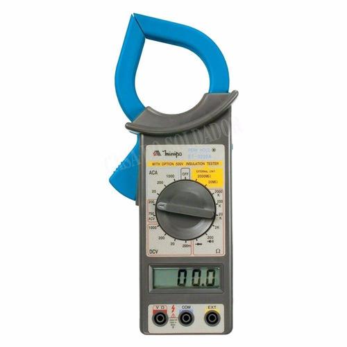 Alicate Amperímetro Digital Profissional Et-3200a Minipa