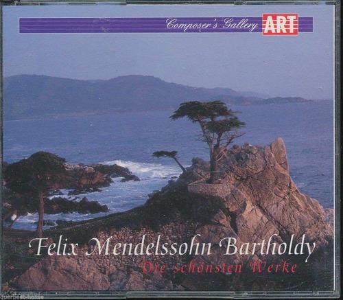 Cd Felix Mandelssohn Bartholdy - Die Schonsten Werke - 02cds Original