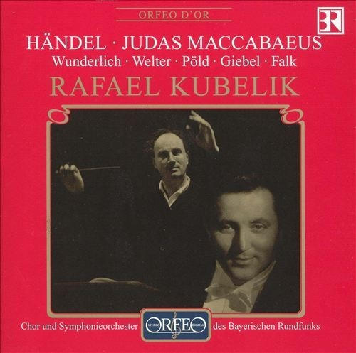Cd Georg Friedrich Handel - Judas Maccabaeus - Boze 02 Cds Original