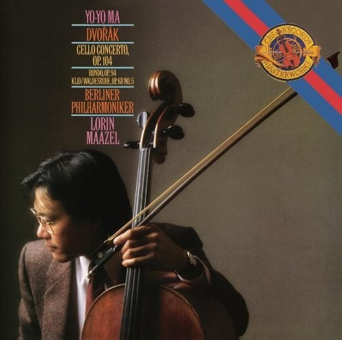 Cd Antonín Dvorák - Yo Yo Ma - Cello Concerto Importado Usa Original