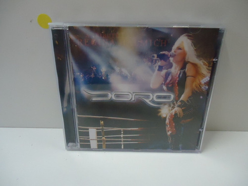 Cd Doro - All We Are The Fight- By Trekus Vintage Original