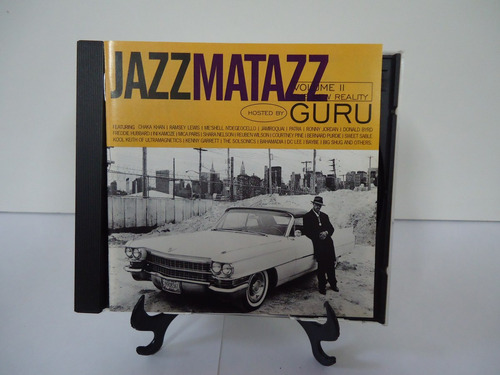 Cd Jazz Matazz Guru Vol.2 - Embalado Estojo Novo Original