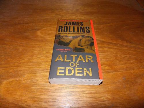 Altar Of Eden - James Rollins - Livro Novo Original