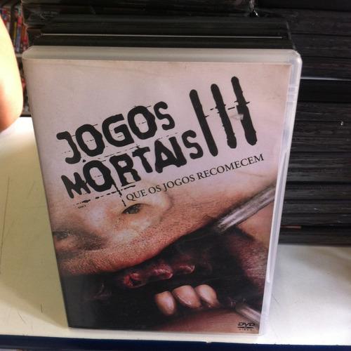 Dvd  Do Filme Jogos Mortais 3 Original