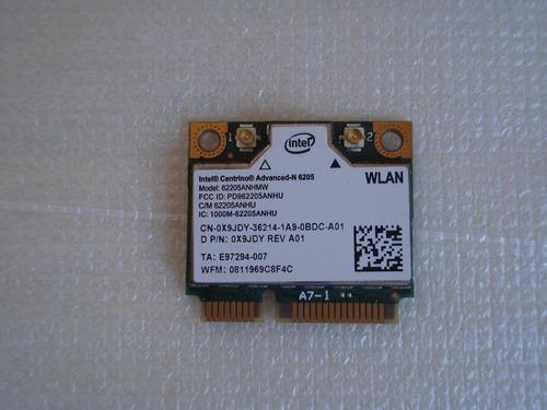 Placa Wireless Wifi Advanced N 6205 300 Mbps P/n 0x9jdy Original
