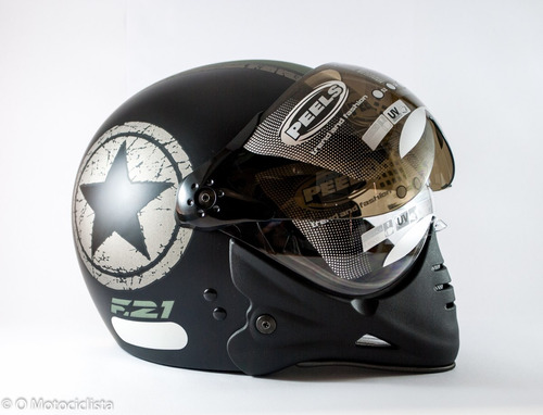 Capacete Moto Peels Mirage F21 Us Navy