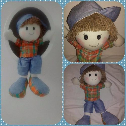 Boneco De Pano (boneco Pezão) Original
