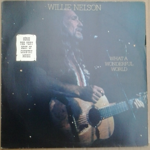 Lp Exc Willie Nelson What A Wonderful World 1988 Original