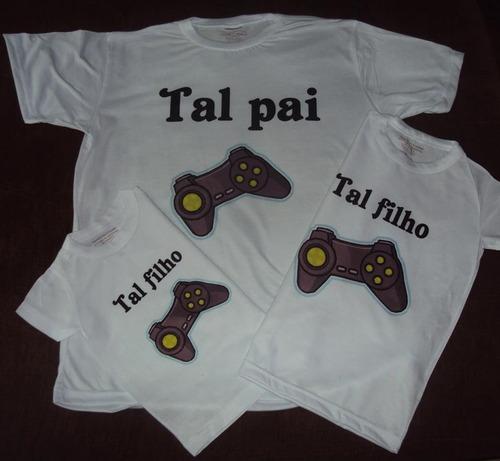 Kits Camisetas Tal Pai E Tal Filho (a) Original