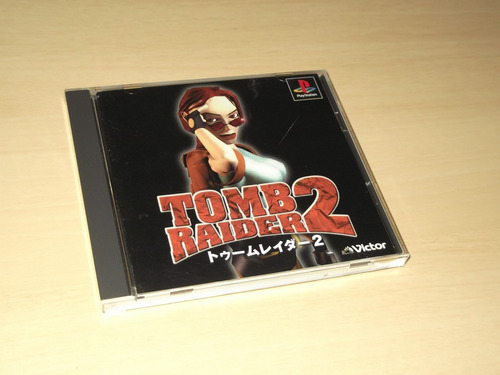 Ps1 - Tomb Raider 2 (japonês) Original