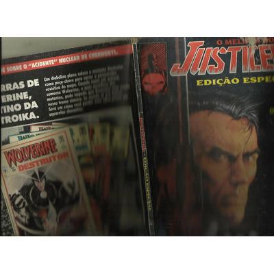 O Melhor Do Justiceiro  Nº 1 - Edição Especial - Set/91 em Joaçaba