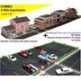 Combo Maquete Cidade Para Montar Estacionamento