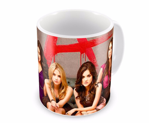 Caneca De Porcelana Pretty Little Liars