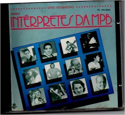 Cd  Grandes Interpretes Da Mpb Original