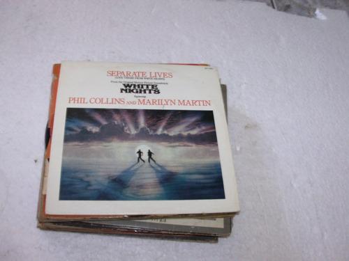 Compacto Phil Collins E Marylin Martin / Separete Lives 1985 Original