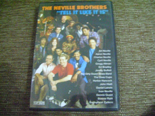 Dvd  The Neville Brothers Tell It Like It Is Original