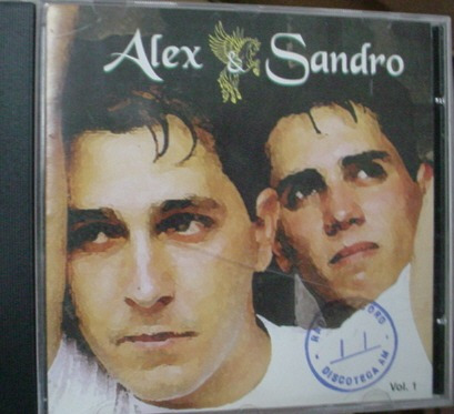 Cd   Alex  &  Sandro - Pouco A Pouco  -  B181 Original