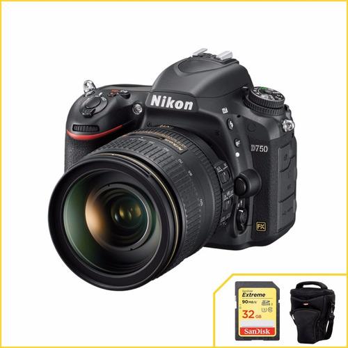 Kit Nikon D750 Com 24-120mm F/4g Ed + 2 Anos De Garantia Original