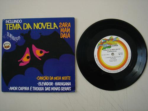 Disco Compacto Simples-  Almondegas- Canção Da Meia Noite Original