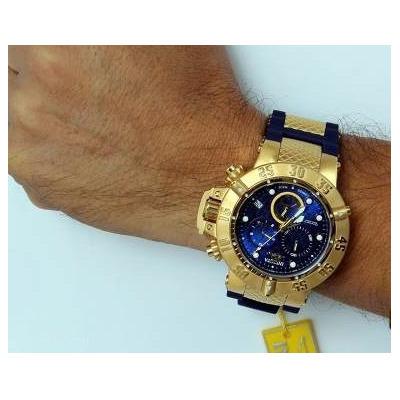 5be0b963562 Relógio Invicta 15800 Subaqua Noma 3 Original Garantia completo com caixa