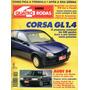 Quatro Rodas Nº407 Corsa Gl 1.4 Efi Audi S4 Accord Lx Elba