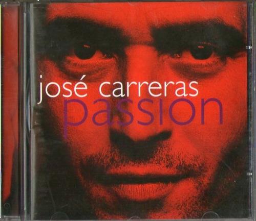 Cd José Carreras - Passion Original