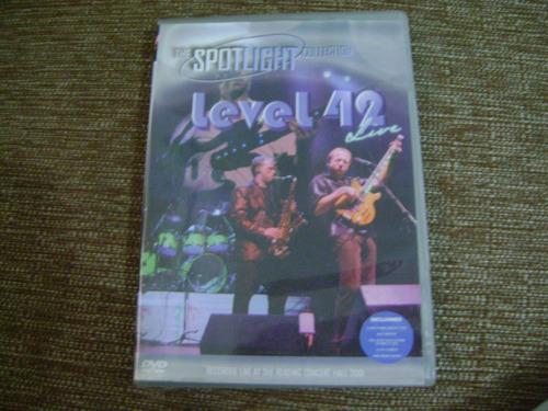 Dvd  Level 42 The Spotlight Collection Original