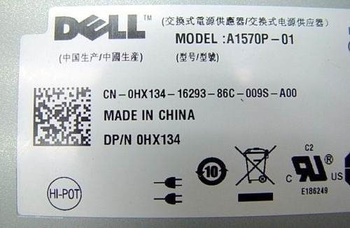 Fonte Power Supply Servidor Dell Power Edge R900 A1570p-01 Original