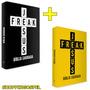 Kit Com 02 Bíblias Jesus Freak Amarela Preta Capa Dura