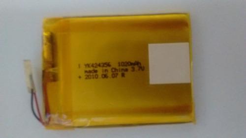 Bateria 3,7v X 1020mah Lithium Yk424356 ( 5 Unidades )