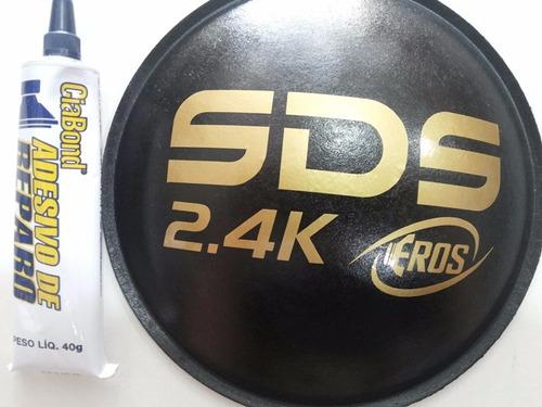 Calota Protetor Para Alto Falante Eros Sds 2.4k 160mm + Cola Original