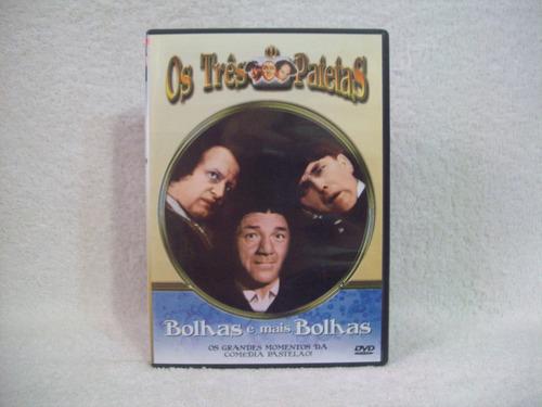 Dvd  Os Três Patetas- Bolhas E Mais Bolhas Original
