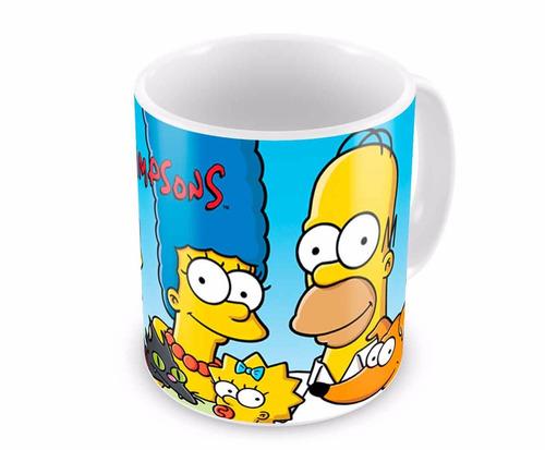 Caneca de Porcelana Os Simpsons