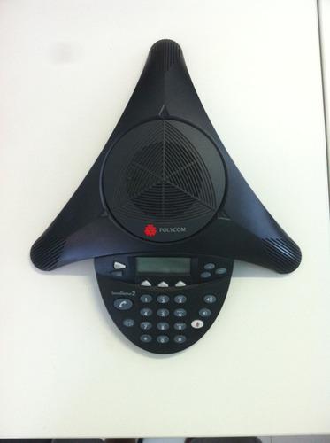 Polycom Soundstation2 Conferência Empresarial Original