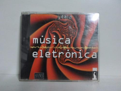 Cd Musica Eletronica - Audio News - Seminovo Original