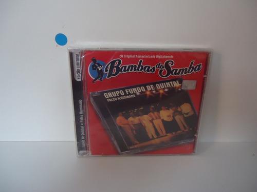 Cd Grupo Fundo De Quintal - Bambas Do Sambas Original