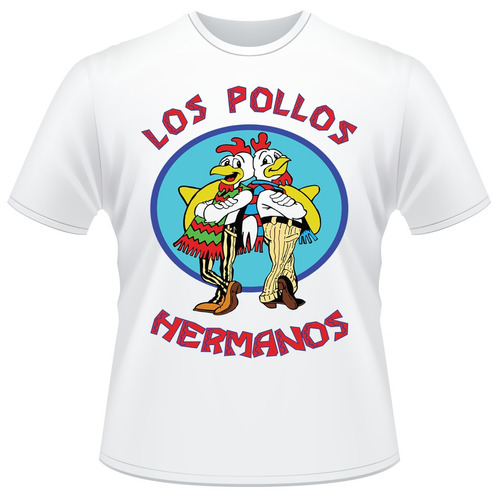 Camisa Los Pollos Hermanos Breaking Bad